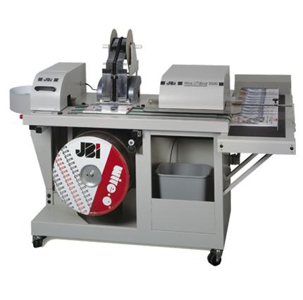 JBI WOB 3500 machine a relier anneaux metalliques