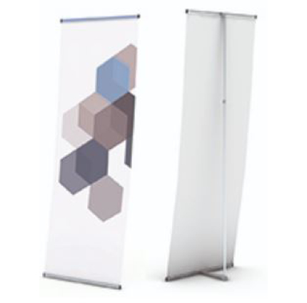 L Banner tele 800 porte affiche simple face