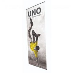 Uno porte affiches simple face grande hauteur