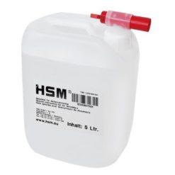 huile bidon 5 litres destructeur document HSM