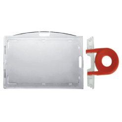 porte badge cle securite horizontal vertical