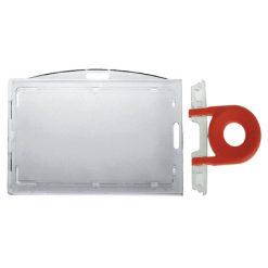porte badge cle securite horizontal vertical