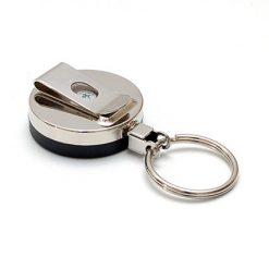 zip metal anneau porte cle