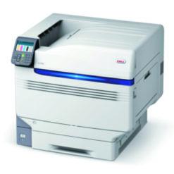 OKI Pro 9542 impression led 5 couleurs blanc