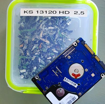 destruction disque dur ks 13120 hd